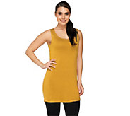 LOGO Layers by Lori Goldstein Petite Straight Hem Tank - A251904