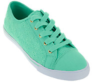 Liz Claiborne New York Lace-up Eyelet Sneakers - A263704