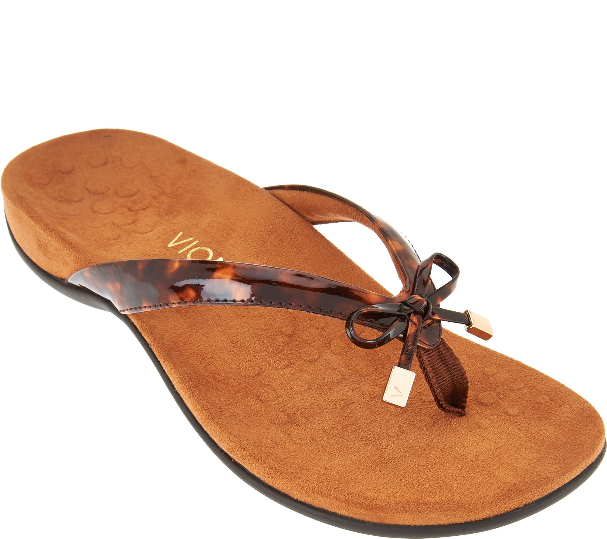 ae9d9b1a70f9 Vionic Orthotic Sandals - Bella II - Page 1 — QVC.com