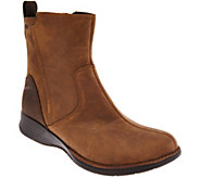 Merrell Waterproof Distressed Leather Ankle Boots - Travvy - A284904