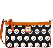 Dooney & Bourke NFL Steelers Large Slim Wristlet - A285804