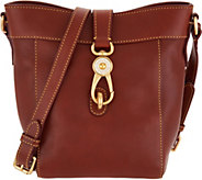 As Is Dooney & Bourke Florentine Sadie Feed Handbag - A307804