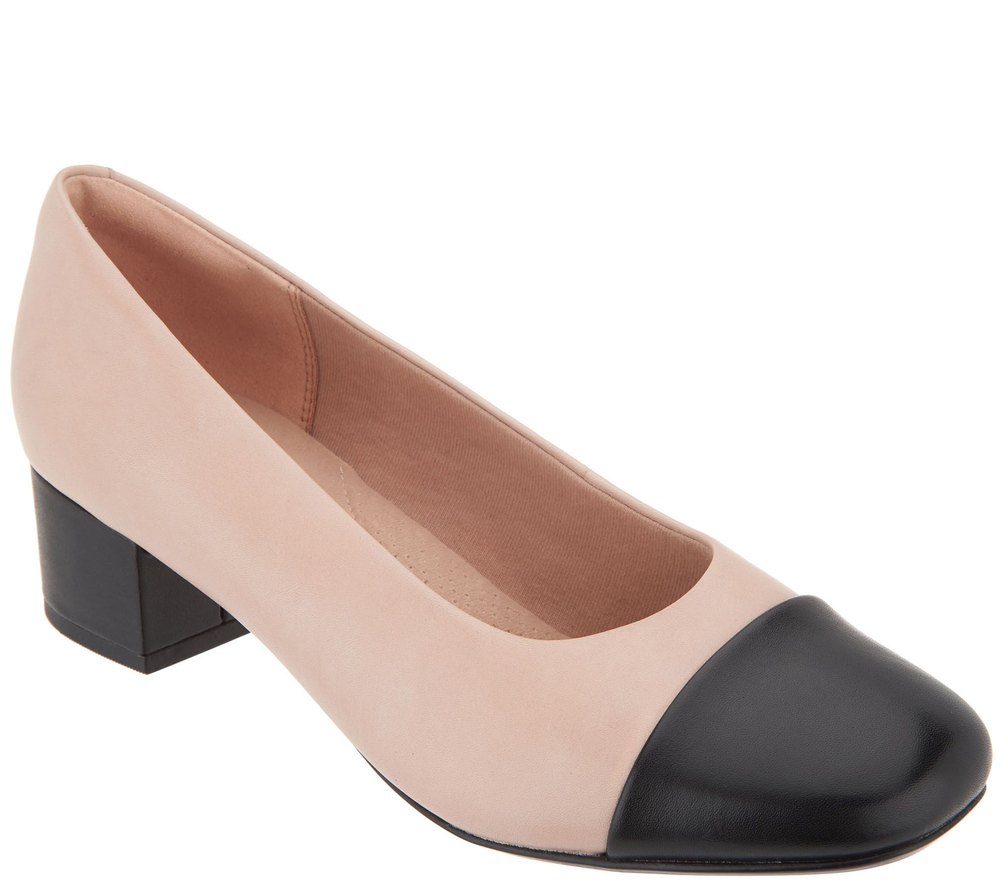 a65eb89181 Clarks Collection Leather Pumps - Chartli Diva - Page 1 — QVC.com