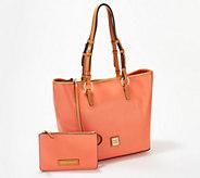 Dooney & Bourke Smooth Leather Shoulder Bag - Brianna - A351904