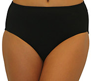 Fit 4 Ur Tummy Solid Swim Briefs - A363004