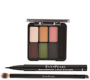 EVE PEARL Ultimate Eye Palette w/ Liner & 207 Dual Brush - A411304