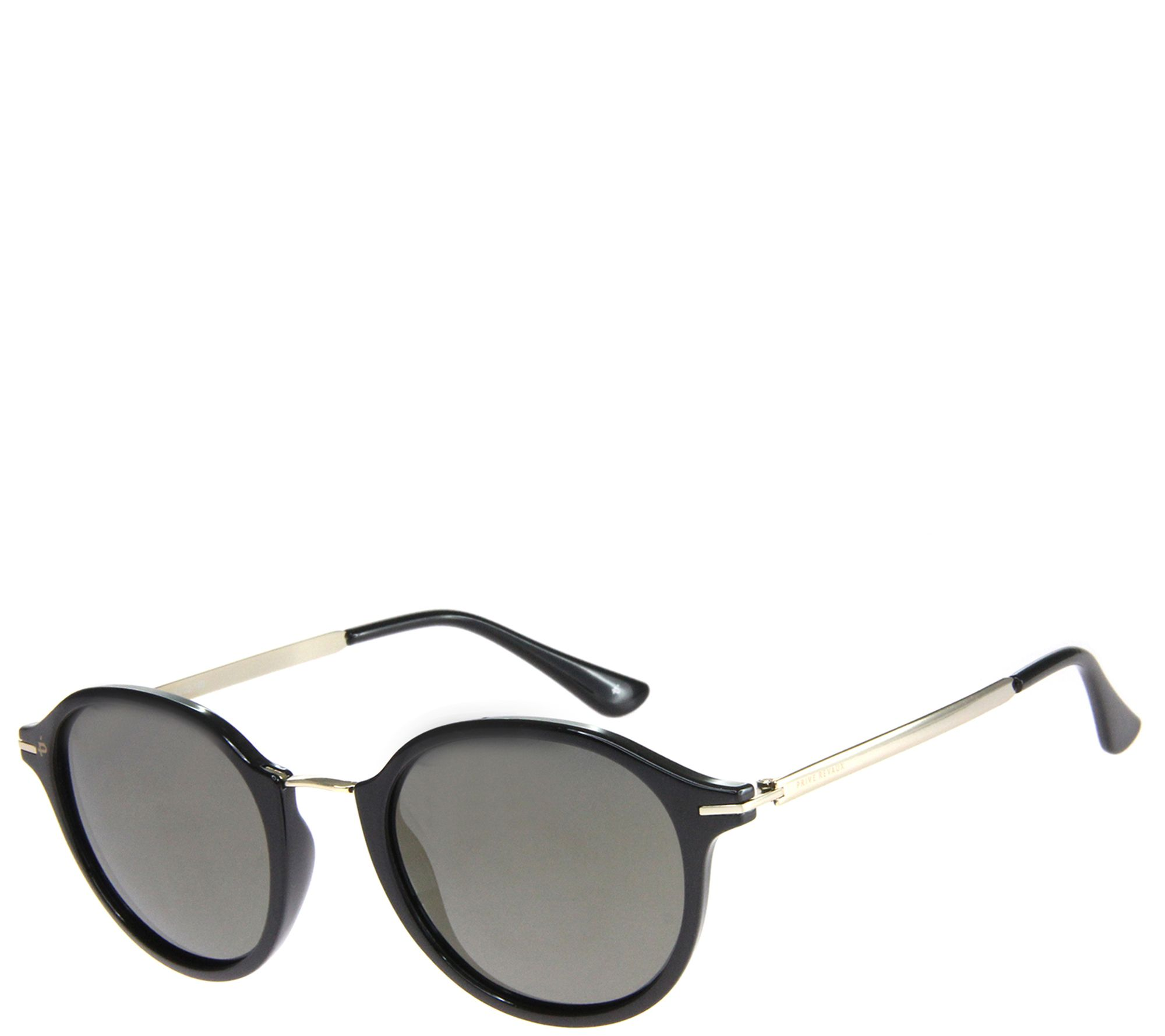 59bc510d52f Prive Revaux The Penn Polarized Sunglasses - Black Smoke - Page 1 — QVC.com