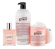 philosophy super-size embrace love and grace fragrance trio - A253605