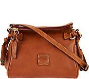 Dooney & Bourke Florentine Leather Mini Zip Crossbody - A286305