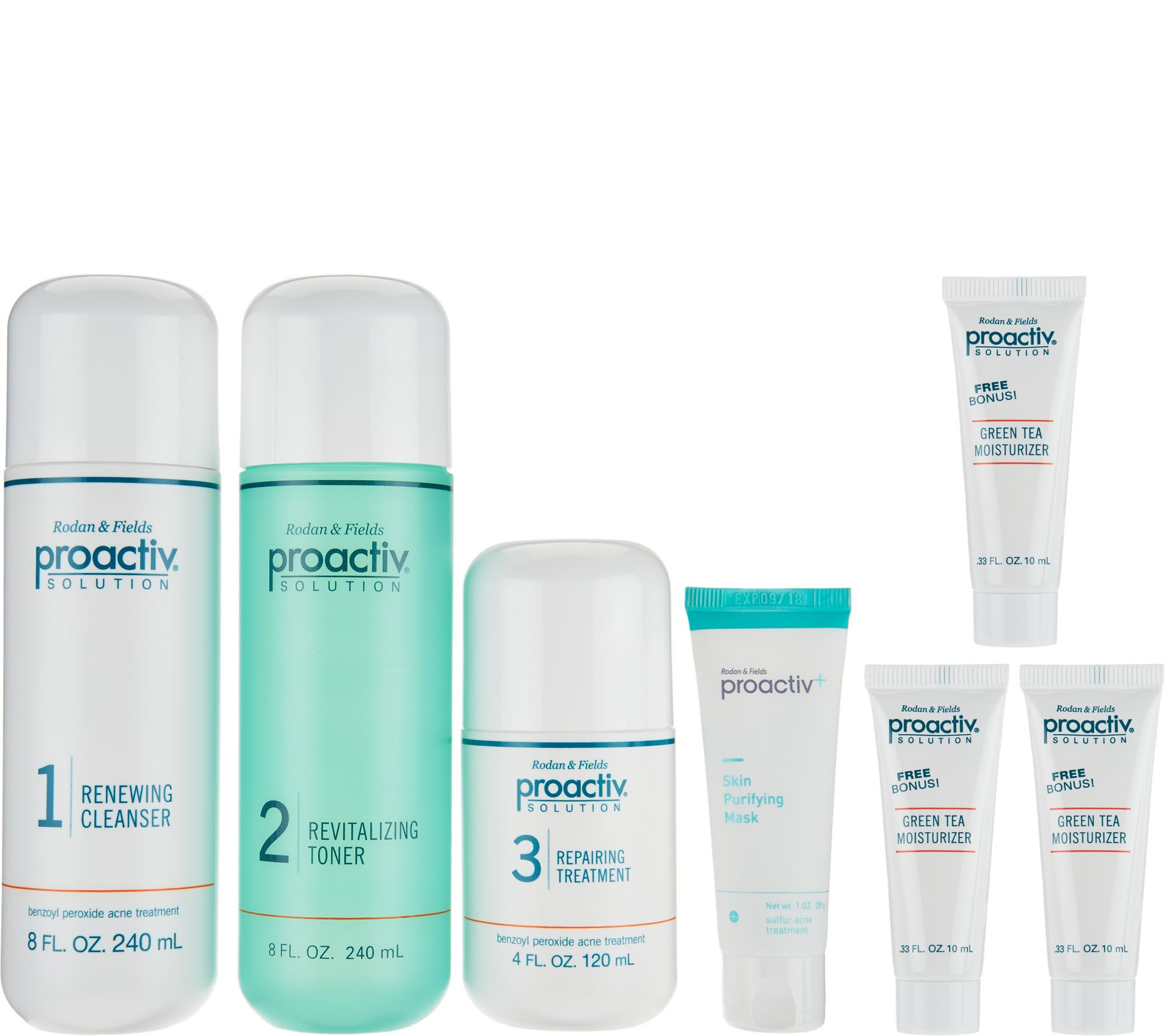 Qvc Home Decor Proactiv Super Size 3pc Acne System W Bonus Page 1