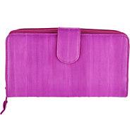 Lee Sands Womens Eelskin Wallet - A296305