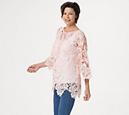 Linea by Louis DellOlio Lace Top - A302605