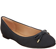 Clarks Leather and Textile Ballet Flats - Grace Lily - A341905
