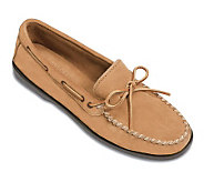 Minnetonka Mens Camp Classic Suede TieMoccasins - A147006
