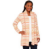 Liz Claiborne New York Heritage Collection Open Sweater - A267306