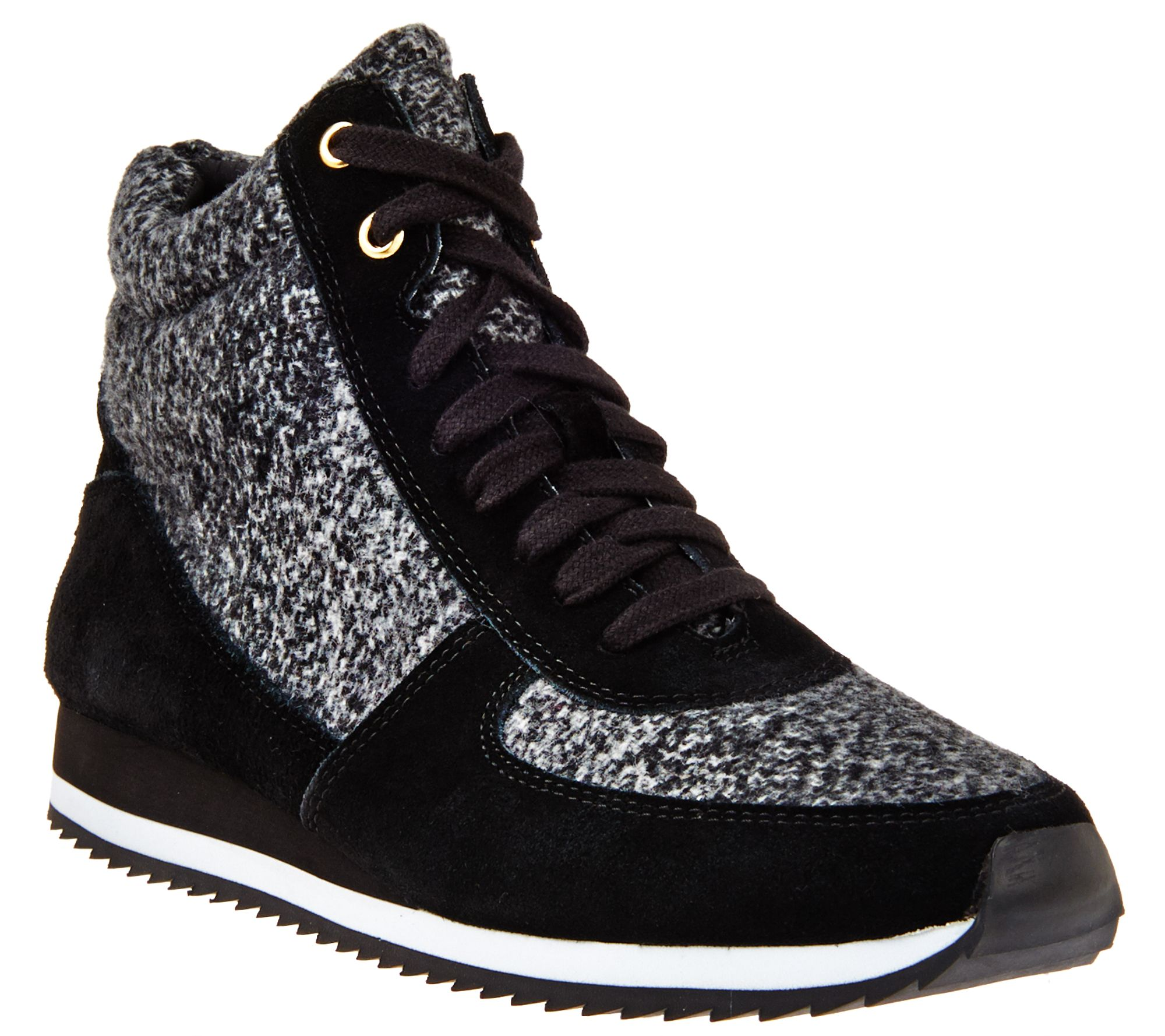 Isaac Mizrahi Live! SOHO Lace-up Suede Low Wedge Sneakers cost cheap price hbumZ9DwHF