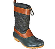 Isaac Mizrahi Live! Mid Shaft Water Resistant Boots - A270906