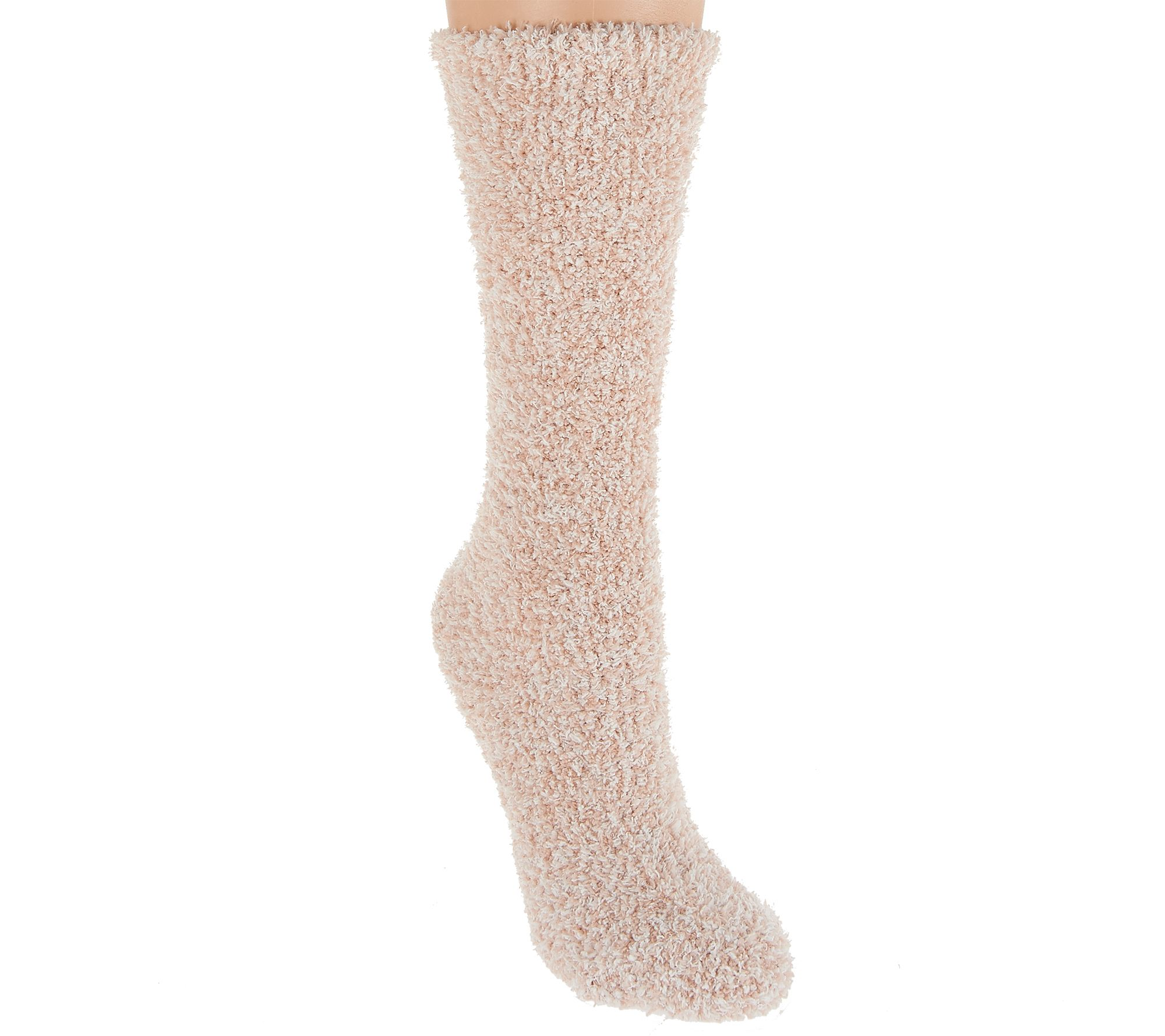 f7033e8633 Barefoot Dreams Cozychic Heathered Women s Socks - Page 1 — QVC.com