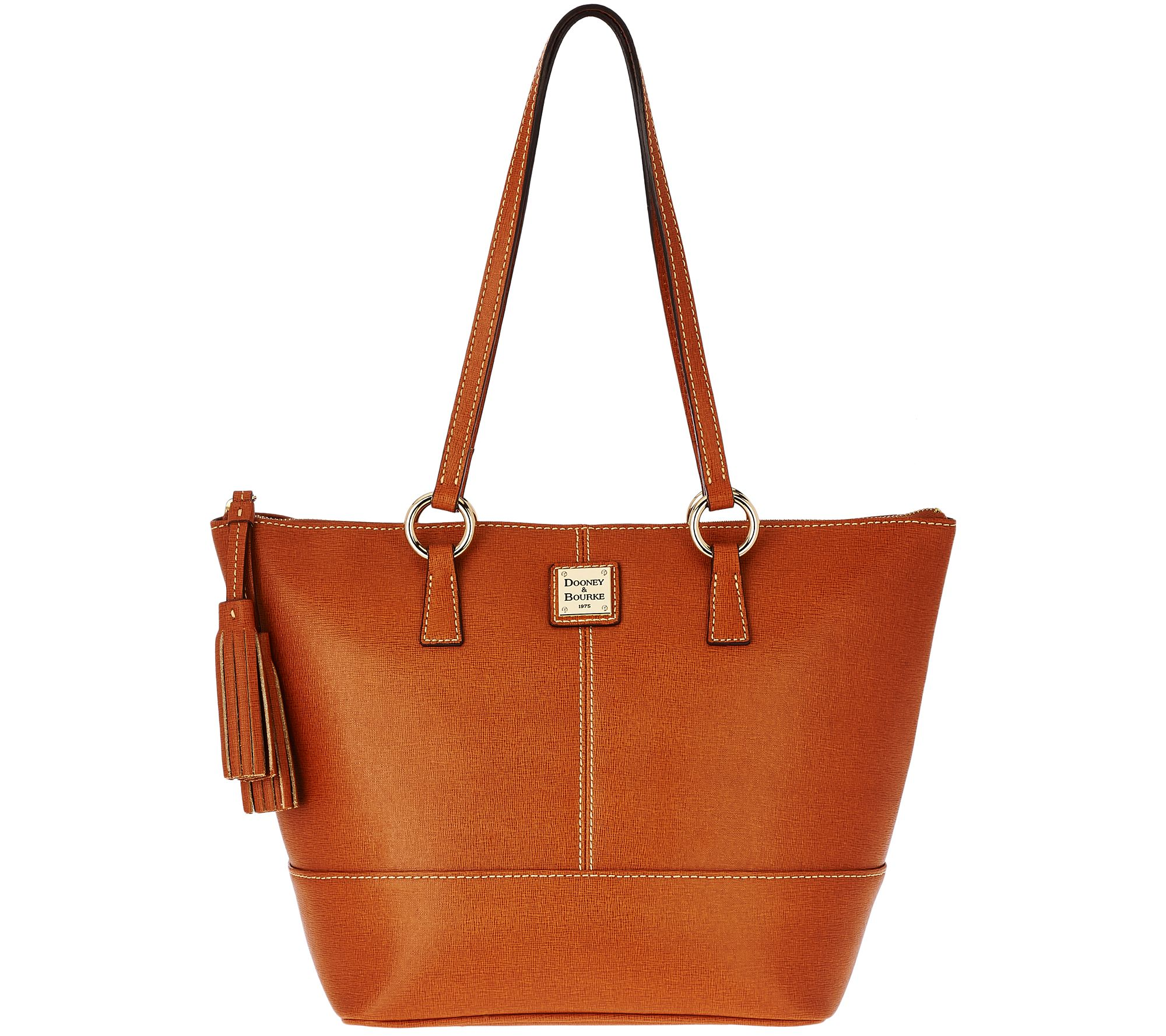 As Is Dooney Bourke Saffiano Leather Small Tobi Per Page 1 Qvc