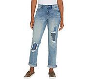 Laurie Felt Classic Denim Underpatch Weekender Jeans - A310006