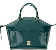 Dooney & Bourke Patent Leather Sydney Satchel - A342806