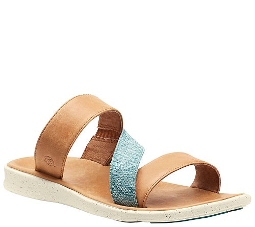 Superfeet Classic Leather Slide Sandals - Reyes