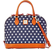 Dooney & Bourke MLB Astros Zip Zip Satchel - A280107