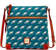 Dooney & Bourke NFL Eagles Crossbody - A285707