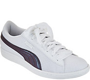 PUMA Mesh Sneakers with Velvet Laces - Vikky Swan - A288307