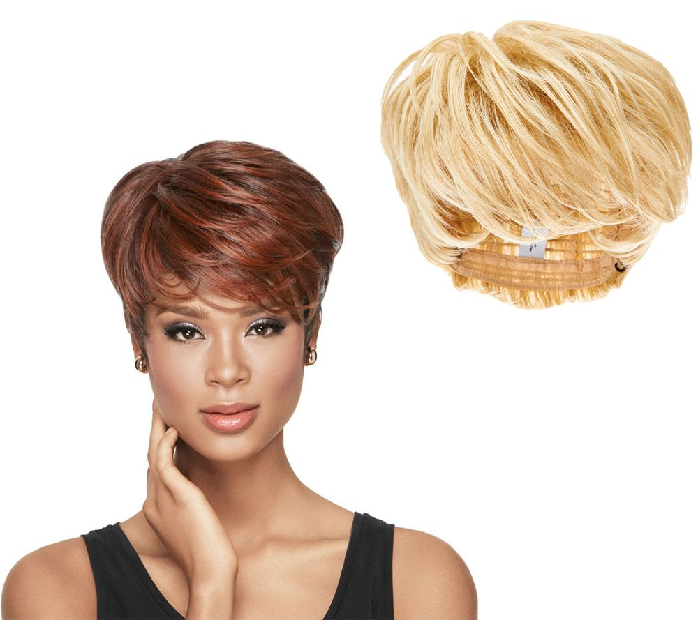 pixie haircut wig luxhair by sherri shepherd tapered tomboy pixie cut wig 4270