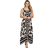 C. Wonder Regular Printed Handkerchief Maxi Dress - A292207