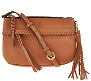 As Is orYANY Pebble Leather Crossbody - Marcia - A295407