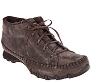 Skechers Suede Bikers Lace-up Boots - Totem Pole - A298307