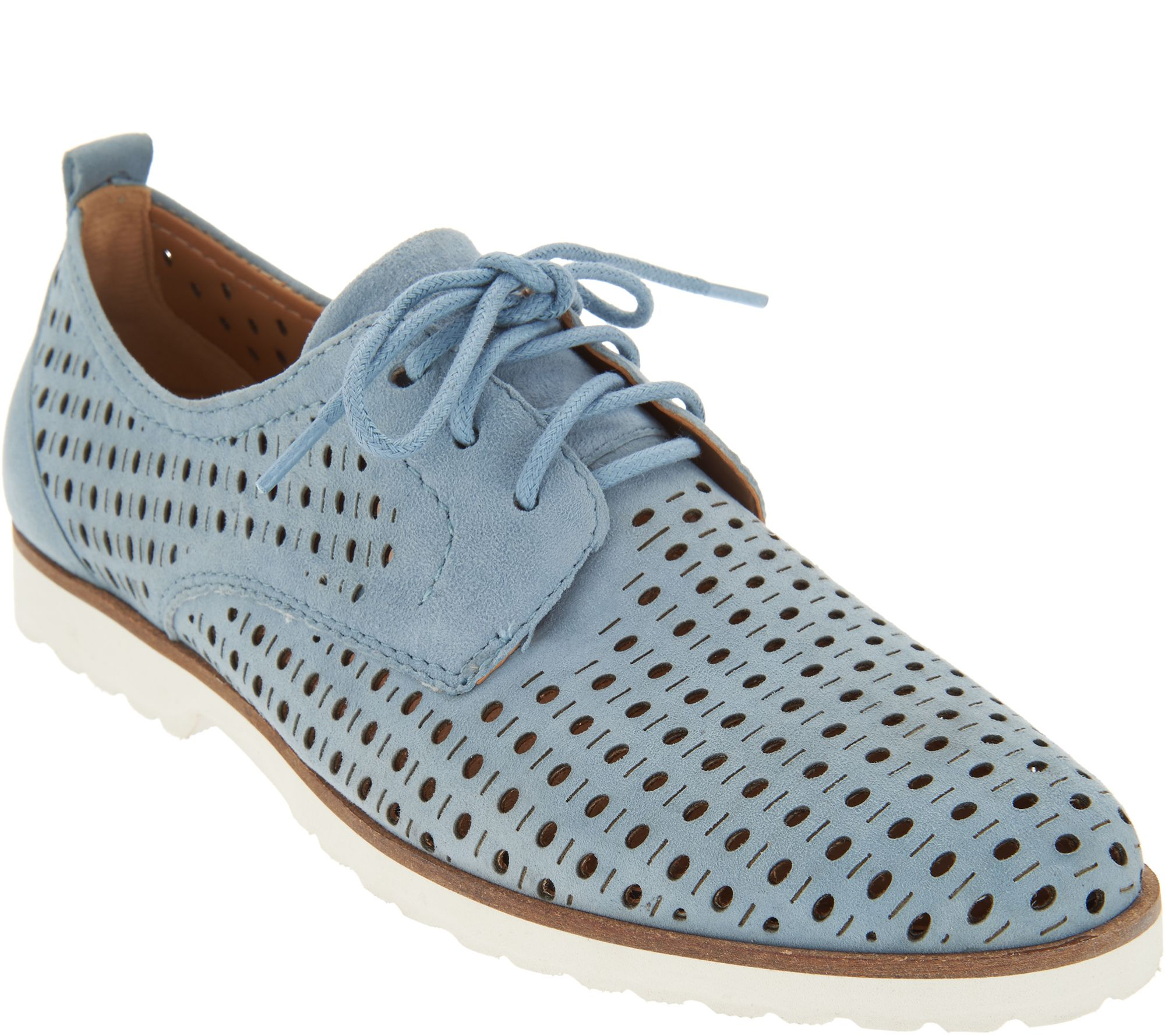 Earth Perforated Leather Lace-up Shoes - Camino sale 2014 unisex extremely sale online pre order wiki online VaV3n0