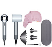Dyson Supersonic Hair Dryer with Aquis Turban Towel - A349007