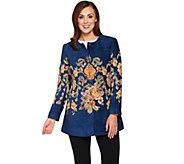 Susan Graver Artisan Embellished Tapestry Jacket - A282108