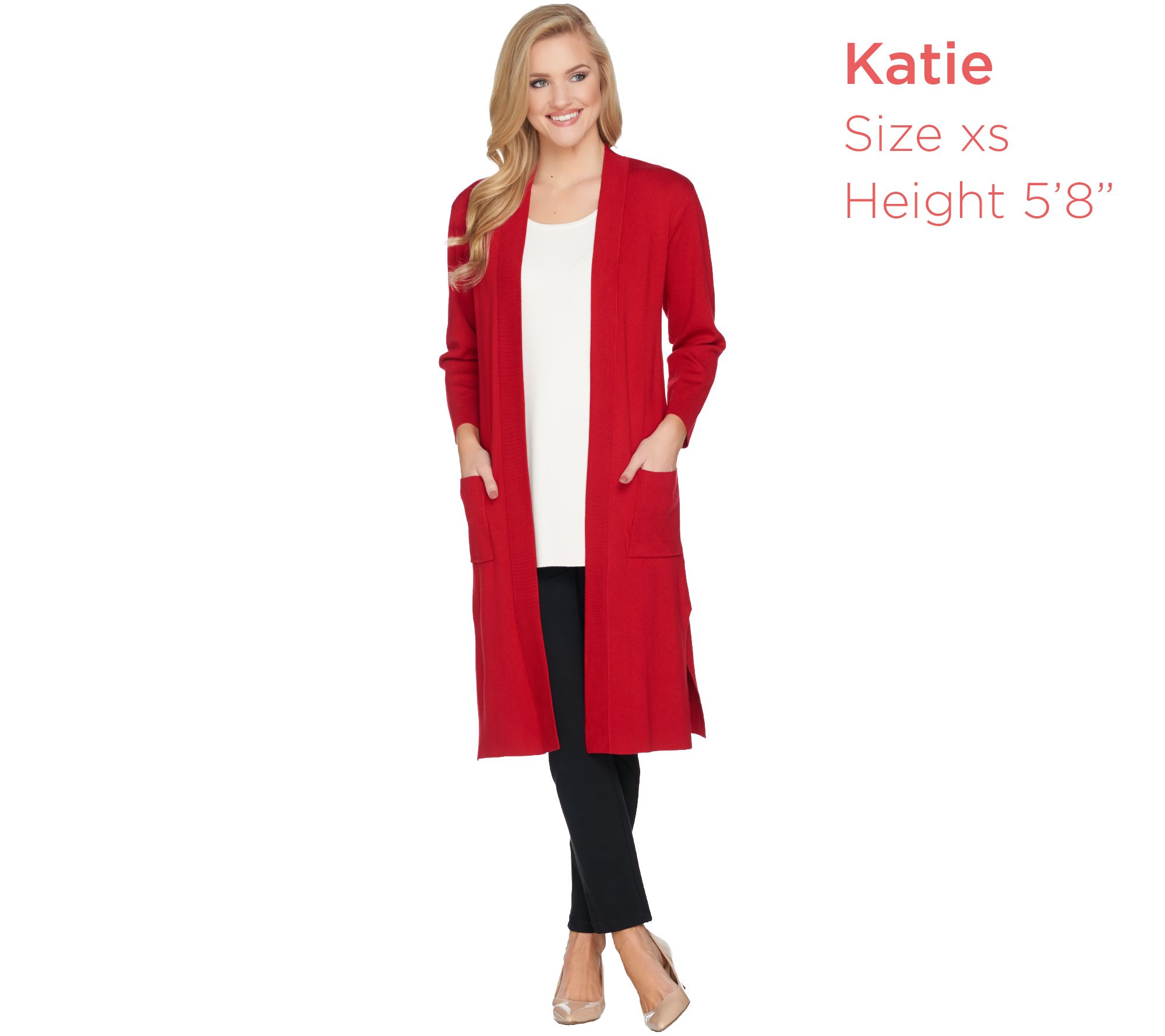 d625f690c7 Linea by Louis Dell Olio Whisper Knit Long Cardigan - Page 1 — QVC.com