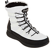 Skechers Waterproof Quilted Bungee Winter Boots - A298308