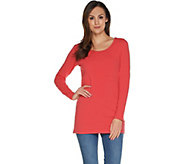 Wicked by_Women with Control Regular Essentials Long Sleeve Tunic - A301308