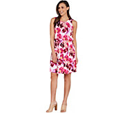 Kelly by Clinton Kelly Floral Printed Sleeveless Knit Dress - A304708
