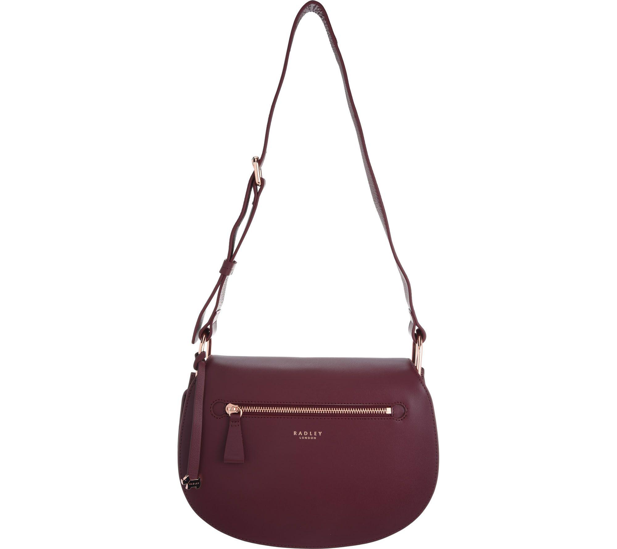As Is Radley London Camley Street Medium Leathershoulder Handbag Qvc