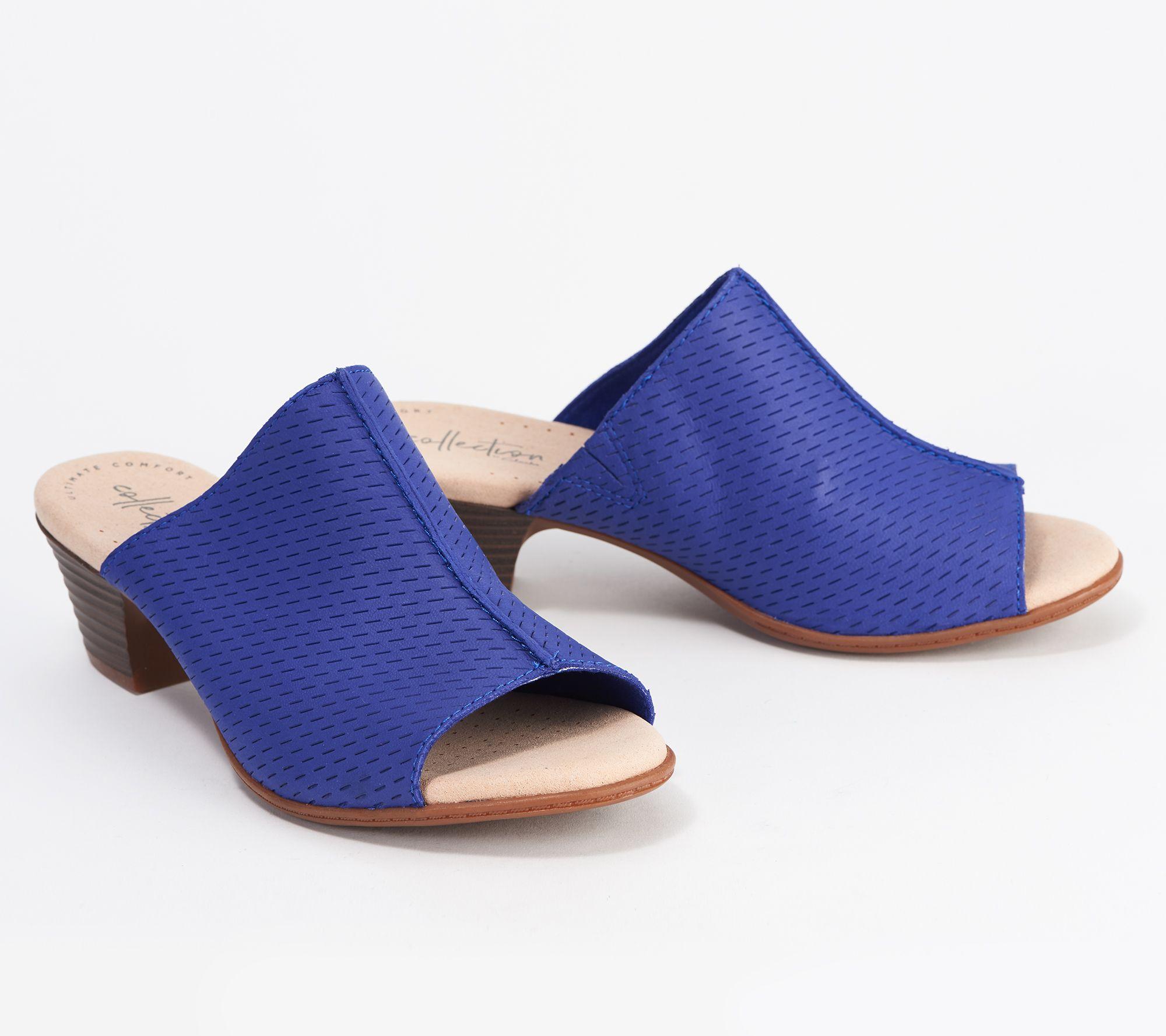 Clarks Womens Valarie Caddy Heeled Sandal