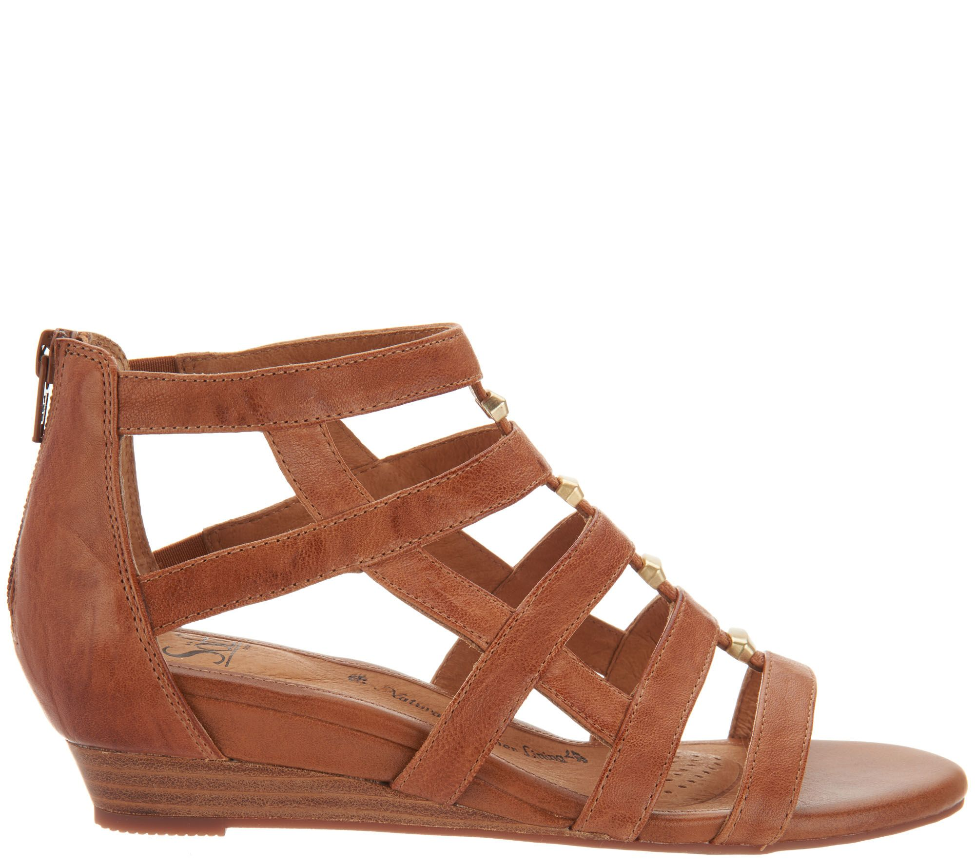 083454881b62 Sofft Leather Gladiator Sandals - Rio - Page 1 — QVC.com