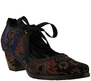 LArtiste by Spring Step Leather, Velvet Mary Janes - Samantha - A414808
