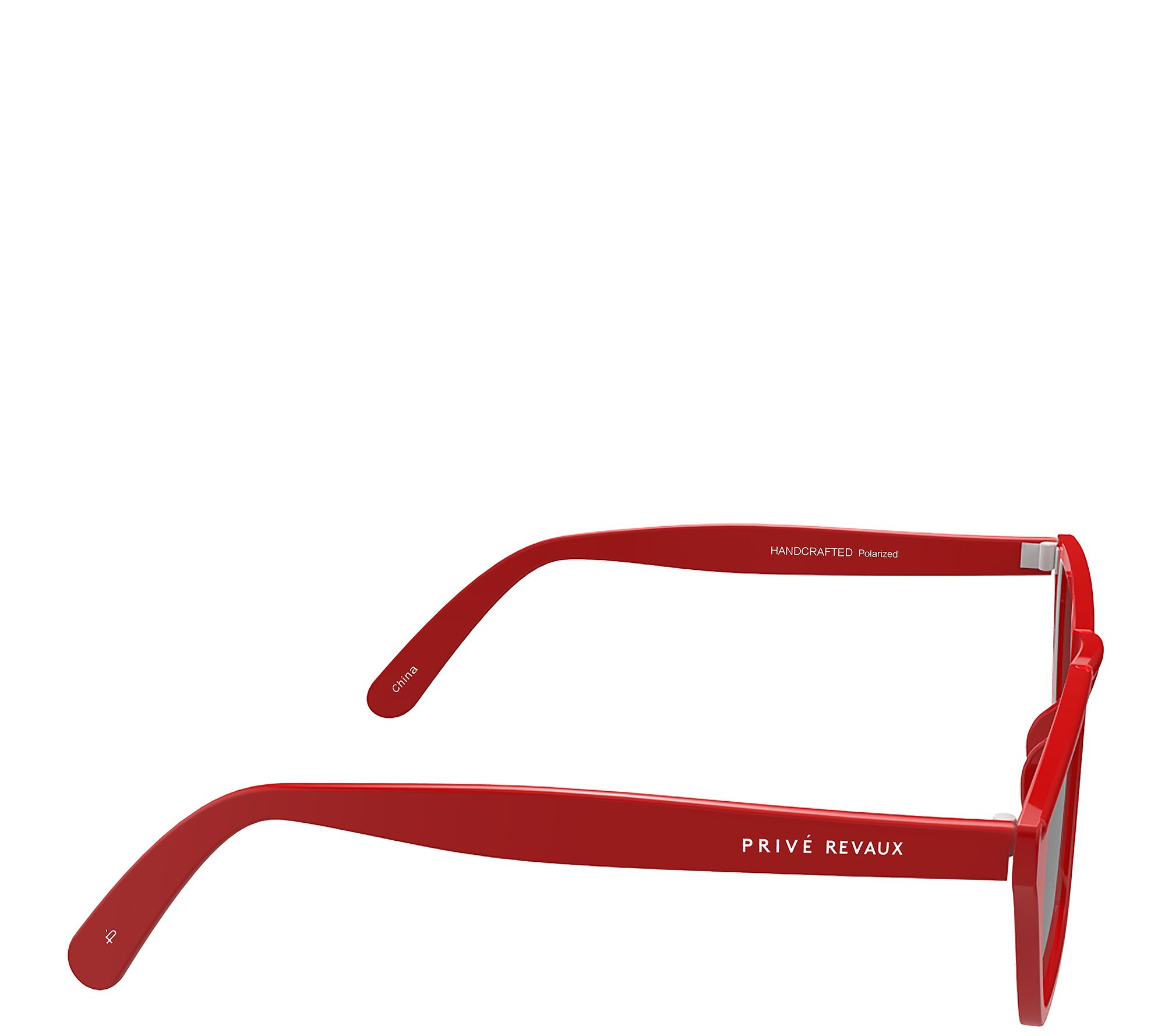 fefd19ddae2 Prive Revaux The Marrakech Polarized Sunglasses- Red Gray - Page 1 — QVC.com