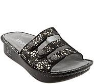 Alegria Printed Triple Strap Sandals - Fiona - A273109