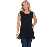 Kathleen Kirkwood Layering Tank with Lace Extender - A343309