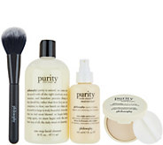 philosophy purity, prep & perfected 4-piece skincare system - A345109