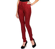 Nicole Richie Collection Brocade Tapered Ankle Pants - A236310