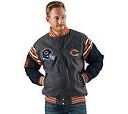 NFL Team Color Reversible Wool Blend Jacket - A280710